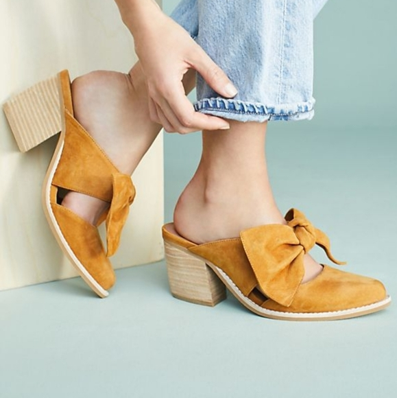 Anthropologie Shoes - Jeffery Campbell Cyrus Bow Heel